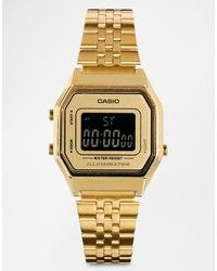 63682dee885 Reloj Dorado de CASIO Gold Jewelry