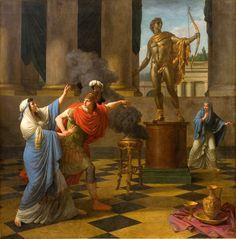 Alexander Consulting the Oracle of Apollo,Louis-Jean-François Lagrenée