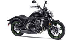 2015 Kawasaki Vulcan S - Engine: Liquid-cooled, 4-stroke Parallel Twin - Displacement: 649cc - Power 45.0 kW (61 PS) / 7,500rpm - Torque 63.0 N*m (6.4 kgf*m) / 6,600 rpm  - Transmission: Six-speed with positive - 120/70 R18 front, 160/60 R17 rear tires - Fuel capacity 14 litres - Seat height 705 mm - Weigth 225/228 (ABS) kg