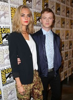 SDCC Photos : Valerian and the City of a Thousand Planets Featuring Cara Delevingne and Dane DeHaan via @seat42f