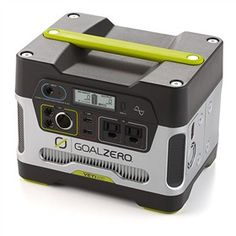 The Goal Zero Yeti 400 is an portable power supply to keep laptops, tablets and TVs charged up anywhere you go.
