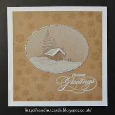 inkylicious winter lodge card ideas - Google Search