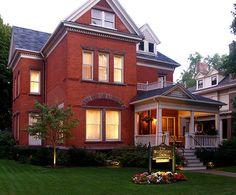 Fabulous older homes in Erie.