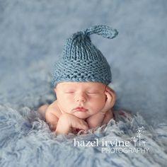 Easy KNITTING PATTERNS  newborn hats  'chunky door rocketclothing, $5.00