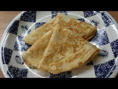 Dough Recipe, Pancakes, Ethnic Recipes, Food, Youtube, Essen, Pancake, Meals, Yemek
