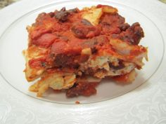Vegan Black Bean Lasagna