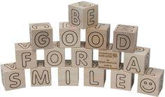 Simple ABC Blocks - Maple Landmark