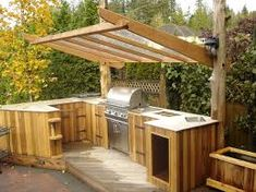 Outdoor Kitchens For Small Spaces See More Use Trellis On A Gazebo As A Windbreak Google Search