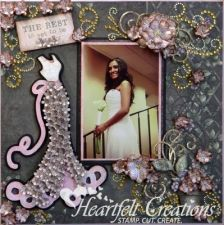 Wedding Scrapbook Layouts   Click on a project to view instructions and products used.