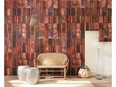 These designer wallpapers are available in a wide spread of coppers and pearly pastels, to give your home a new breath of life. Intuition, Casadeco Wallpaper, Showroom, Designer Wallpaper, Wall Colors, Modern, House, Wallpapers, Furniture