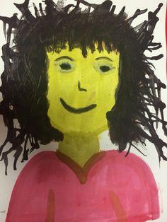 Watercolors halloween Face