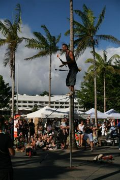One of the passing floats for #Festival #Cairns.  Photo taken by Peter Byrnes.