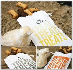 DIY Halloween Treat Bags for dogs from @Serena Faber-Nelson at Pretty Fluffy.  Great job, these are amazing & super cute! :)