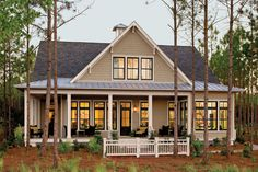 Inspired by historic seaside architecture, this design combines the comfort of a vacation home with thoughtful features that make everyday life easier for today's busy families. 3,554 square feet 5 Bedrooms and 4 baths Designed by Looney Ricks Kiss Architects See more of the Tucker Bayou House Plan