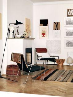 The creative home of a Swedish artist | my scandinavian home | Bloglovin'