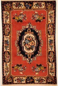 Bakhtyari Rug 3'4″ x 5'3″ 1