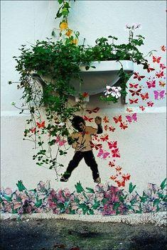 .xx. Mini street art by Alias #alias #streetart #urbanart .xx.