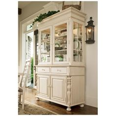 Paula Deen Home Linen Wood 2-Drawer 2-Door Wood Buffet - Style # 21H10