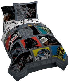 Amazon.com - Lucas Film Star Wars Classic Death Star Comforter with Sham, Twin/Full -