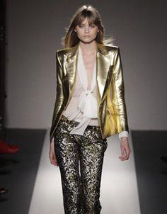 metallic fashion - Google Search