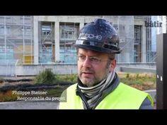 Rénovation de la tour Bel-Air - #Lausanne #Suisse #Schweiz #Switzerland