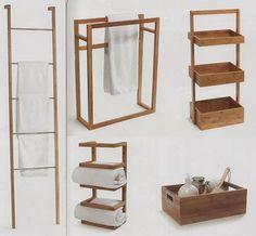 inspiracje w moim mieszkaniu: Łazienkowy wieszak na ręczniki {Bathroom towel rack}
