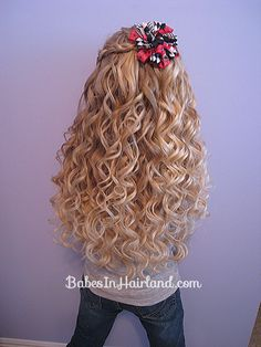 This is gorgeous!  BabesInHairland.com  Curlformers