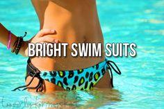 bright swim suits