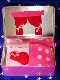 הדרכה לבית בובות בקופסה  חמוד ביותר :-)