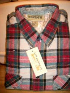 #1032 MENS LONG SLEEVE FLANNEL SHIRT SIZE XXL