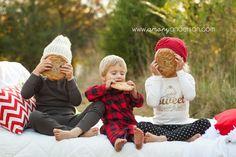 Christmas Cookies Pajamas Family Session Concord NC   Amory Anderson Photography