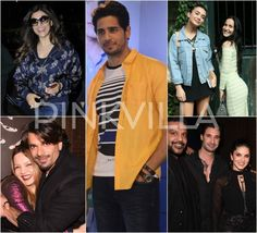 Sidharth, Sushmita, KSG, Amy and others clicked in the city!