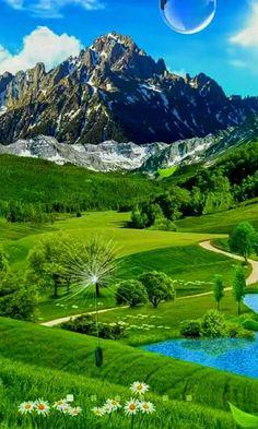 Beautiful Photos Of Nature, Beautiful Places To Travel, Nature Photos, Amazing Nature, Beautiful Pictures, Beautiful Scenery, Beautiful Landscape Wallpaper, Beautiful Landscapes, Landscape Photography