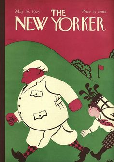 The New Yorker May 16, 1925  Cover Art - A. E. Wilson