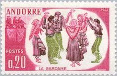 Folk dance group at the Sardana Dance