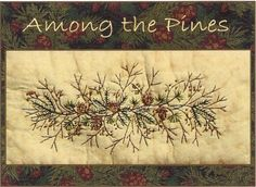 Among+the+Pines++Pine+Spray++Hand+by+WellingtonHouseDesig+on+Etsy,+$2.50