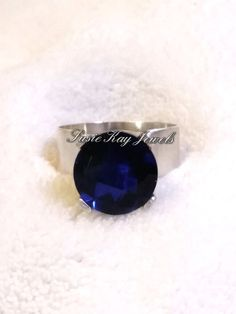 Check out this item in my Etsy shop https://www.etsy.com/listing/225377517/doublet-sapphire-checker-ring