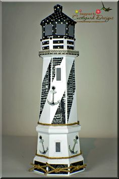 1000 images about w lighthouse on pinterest for 3d paper lighthouse template