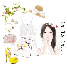 """Anime: la la la...."" by fun-time ❤ liked on Polyvore featuring 3.1 Phillip Lim, Oasis, Alex and Ani, Kendra Scott and ALDO"