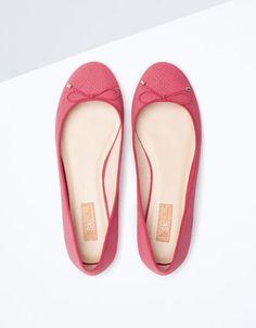 Bershka Portugal - Sapato raso BSK laço