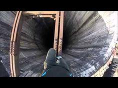 Crazy daredevil almost falls into the tallest Chimney in Romania (280M) - NO ROPE - Men's LifeStyle