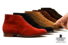 Déclinaison de couleurs autour de la Chukka boots de Crockett & Jones