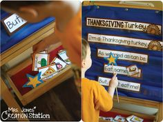Thanksgiving Turkey Interactive Poem - Mrs. Jones Creation Station