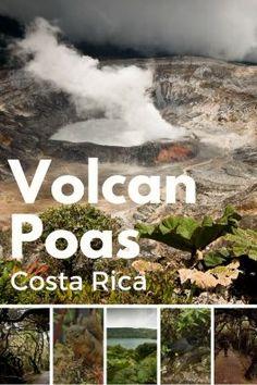 Notre balade et randonnée au volcan Poas au Costa Rica. A la découverte d'un volcan, de lagunes incroyables et d'une forêt mystérieuse !