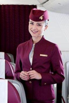 qatar+airways,+uniform