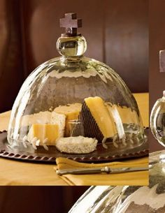 Cake/Cheese plate.  I own it and love it.