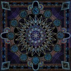 Mandala of the Scribe of Time by Lakandiwa on DeviantArt
