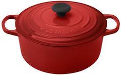 Amazon.com: Le Creuset Signature Enameled Cast-Iron 5-1/2-Quart Round French (Dutch) Oven, Dune: Dutch Ovens: Kitchen & Dining