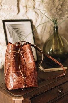 sac seau en cuir super facile | Oui Are Makers | Partageons notre créativité