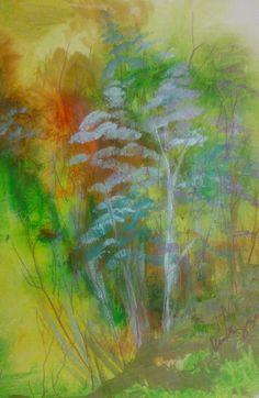 """CO Landscape 1"" by Kim Nguyen  #landscape #painting #colorado"